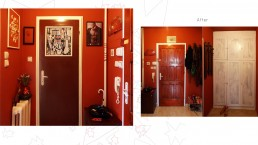 Home-made Redecoration: The Main Entrance After