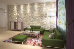 Dobrich Interior Project: The Living Room