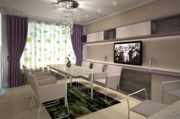 Dobrich Interior Project: Dining Table & Kitchen