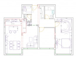 Dobrich Interior Project: Distribution Plan