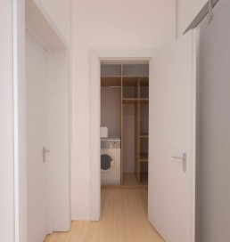 Holiday Appartment in Varna Design Project: Closet