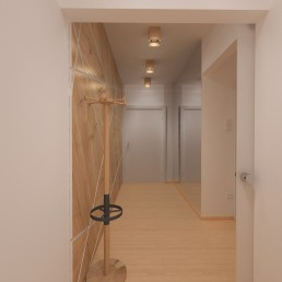 Holiday Appartment in Varna Design Project: Entrance