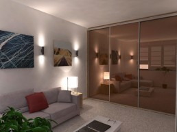 Holiday Appartment in Varna Design Project: Bedroom