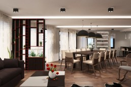 Ground floor - Living/Dining