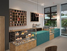 Visualizations for Cafeteria and Gelateria