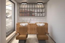 8th sense Beauty Salon Interior Design Project
