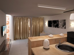 8th sense Beauty Salon Interior Design Project_ Relax Zone