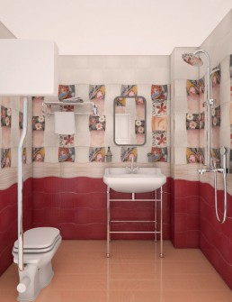 Vintage Apartment Interior Project: The Bathroom