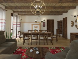Traditional Bulgarian Living room + Contemporary elements