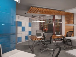 Designer's Office Interior Project: Main Desk