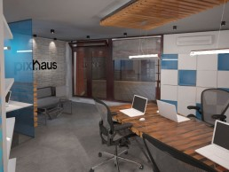 Designer's Office Interior Project: The Entrance