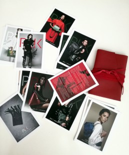 2-sided Cards for PLIK fashion brand