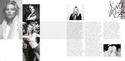Spread from 'Provocative' Portfolio Book