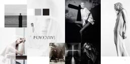 Spread from 'Provocative' Portfolio Book