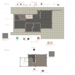 Trakata Interior and Exterior Project: Floorings Scheme