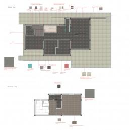 Trakata Interior and Exterior Project: Floorings Scheme