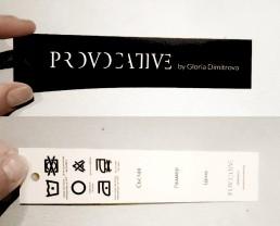 Paper Labels Design