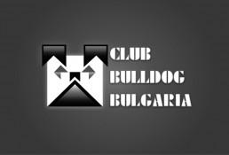 Club Bulldog Bulgaria Logo – Black&White