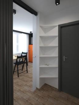 Appartment in Veliko Tarnovo Interior Design Project: Entering the Appartment