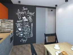 Appartment in Veliko Tarnovo Interior Design Project: Kitchen