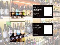 Nosferatu Craft Beer Shop_ Price Label Design