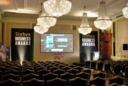 Forbes Business Awards 2015 Stage Design, Hotel Balkan