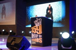 359 TV Hip-hop awards 2016, Efe hall