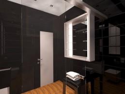 House in Suvorovo Interior Design Project: Son's Bathroom