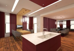 House in Suvorovo Interior Design Project: The Kitchen