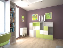 Apartment in Varna Interior Project: The Kid's Room