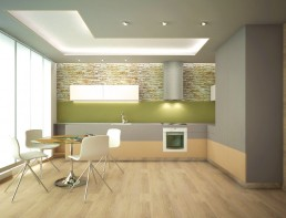 Apartment in Varna Interior Project: The Kitchen