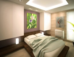 Apartment in Varna Interior Project: The Bedroom