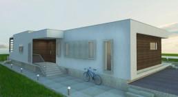 Trakata Interior and Exterior Project: North Facade Entrance