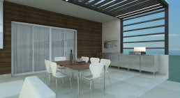 Trakata Interior and Exterior Project: Terrace, Outdoor Kitchen