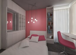 Trakata Interior and Exterior Project: Younger Sister's Room