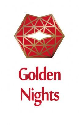 Golden Nighs – Logo for a Night Bar