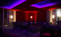 Night Club Interior Project: Western Suite