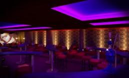 Night Club Interior Project: The Orielntal Half