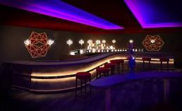 Night Club Interior Project: The Bar