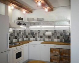 Vintage Kitchen Design Project