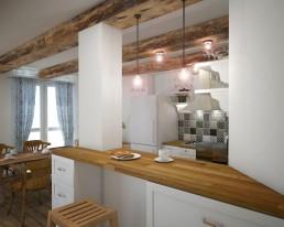 Vintage Kitchen Design Project