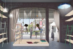 "Childrens' Shoes Shop Design: ""The Scene"""