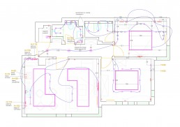 Apartment in Varna Interior Project: Electrical Installations Plan