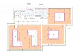 Apartment in Varna Interior Project: Ceiling Plan
