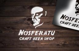 Nosferatu Craft Beer Shop_ Branding Design – Spray Stencil