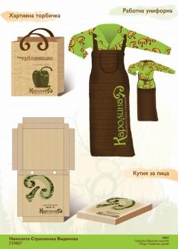 Karolina Healthy Pizzeria Total Design Project: Branding