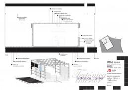High Cuisine Restaurant Project: Interior Arquitecture