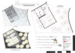 High Cuisine Restaurant Project: Illumination