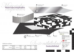 High Cuisine Restaurant Project: Materials Applied